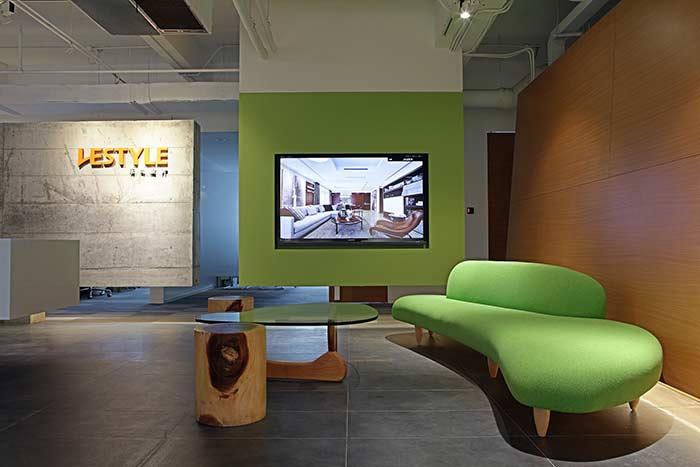 首页 办公室装修风格分类 简约风格办公室装修 上海乐尚设计公司办公