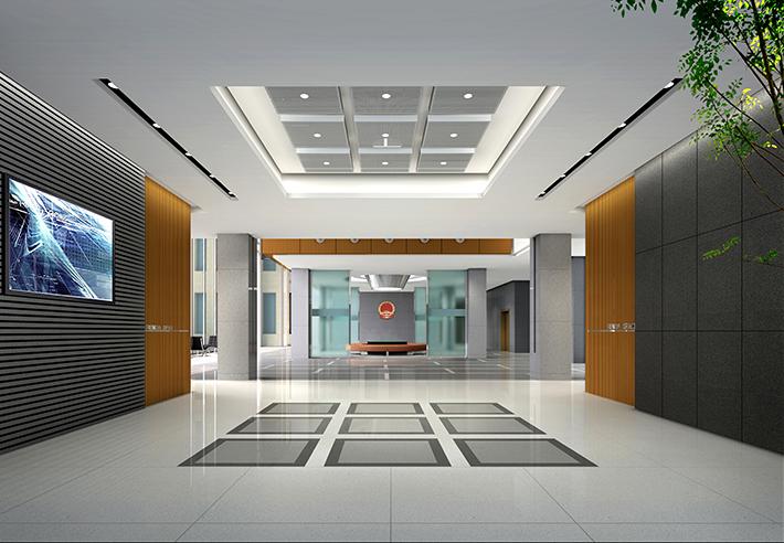 首页 办公室装修功能分类 大堂前台区装修 龙岩市政府办公室装修设计